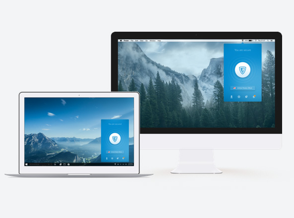 ZenMate VPN for Mac activated on Apple devices
